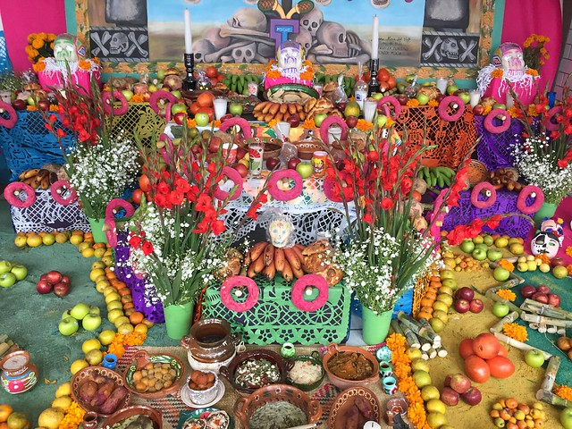 Day of The Dead in Mexico City, Mexico.
