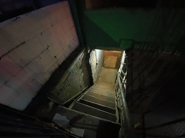 Stairway to Basement (night mode iPhone 11 Pro)