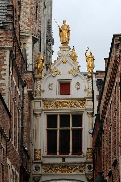 Blinde Ezelstraat, Brugge (Achterzijde-Griffie van het Brugse Vrije)