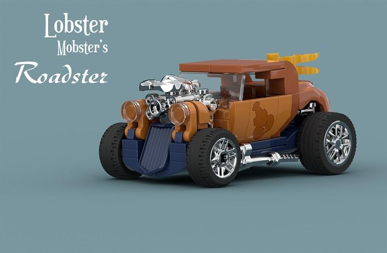 Lobster Mobster's Roadster LEGO MOC