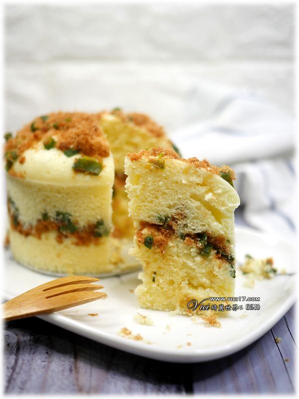 肉鬆鹹蛋糕054