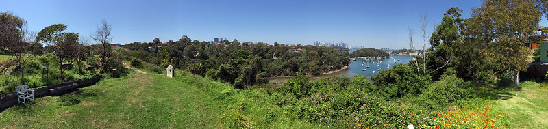 Vista Street lookout panorama