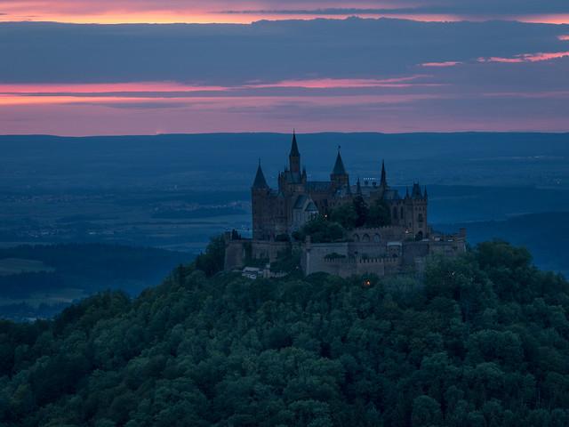 A Prussian castle on Swabian ground - Eine preußische Burg auf schwäbischem Boden