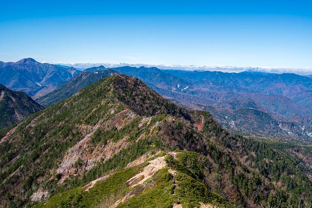 帝釈山・・・尾瀬の山は雲の中@女峰山