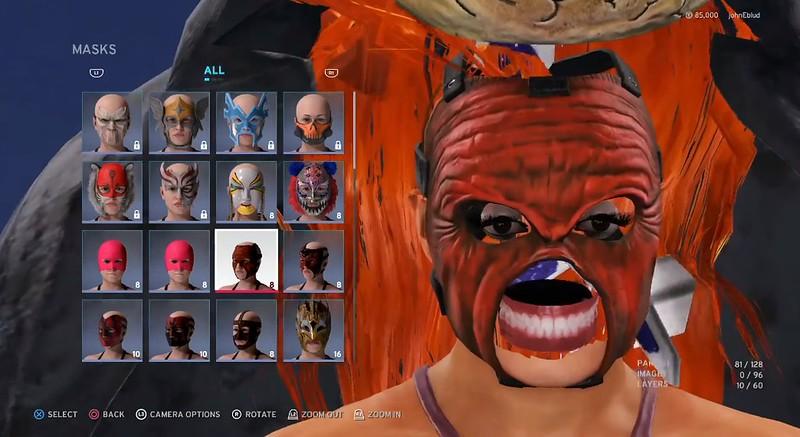 WWE 2K20 - Πρόσωπο