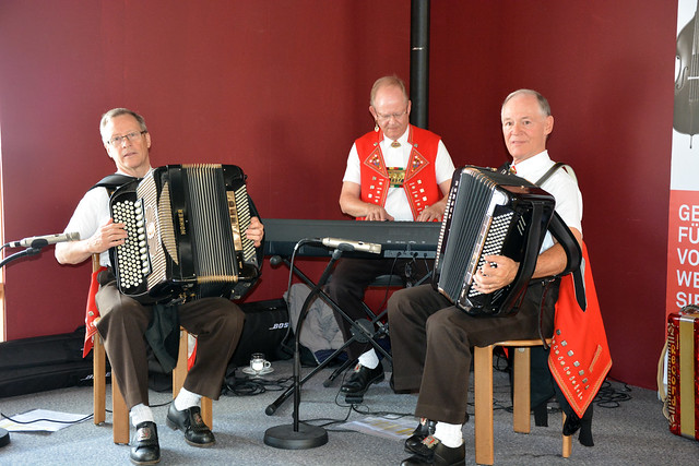 Swiss Folklore at the Olma