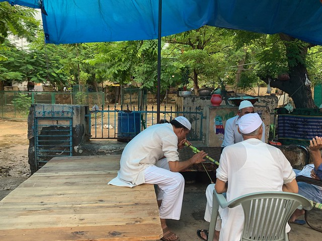 City Life - Wooden 'Takhat' Bed, Outside Jama Masjid, Gurgaon