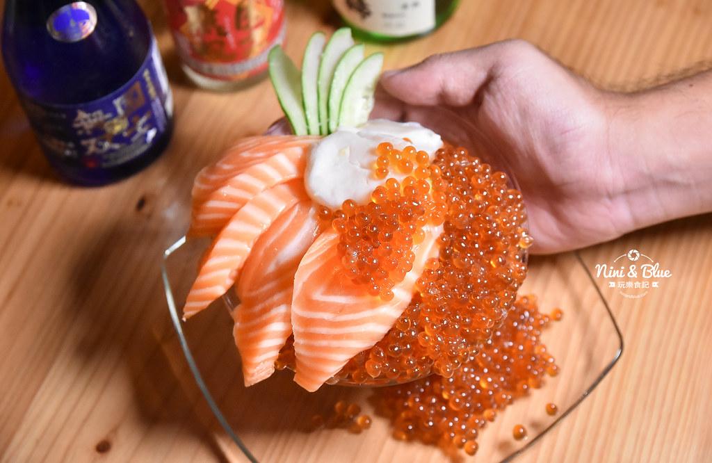 日月水台 日式料理居酒屋 鮭魚卵滿出來09