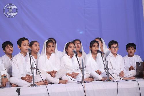 Bal Sangat Faridabad presented group song
