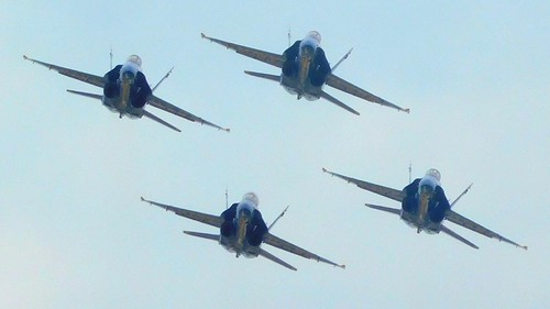 Head On With The Blue Angels!!
