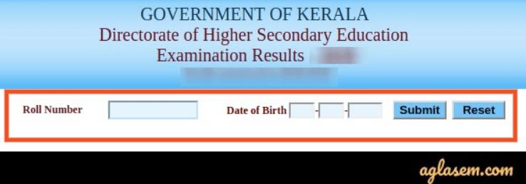 Kerala Board Result 2020