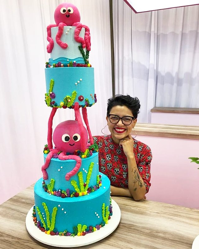 Cake by Chef Thaís Vieira
