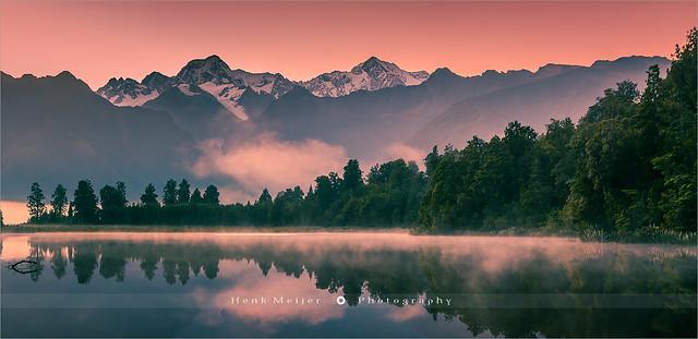 Lake Matheson - South Island - New Zealand