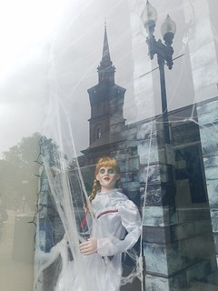 10-22-2019: Ghoulish reflections. Boston, MA