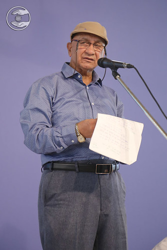 Ankush Narang Ji presented poem, Kalkaji DL