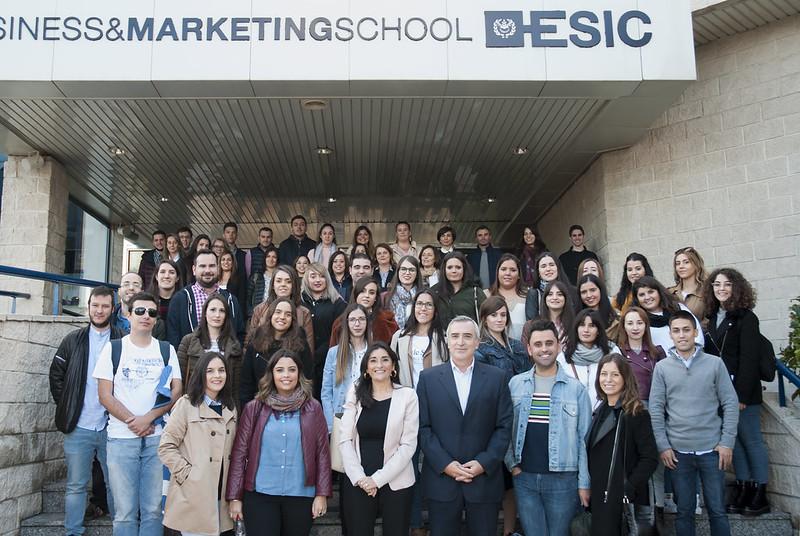 II Escuela Regional de Ventas. Visita a ESIC