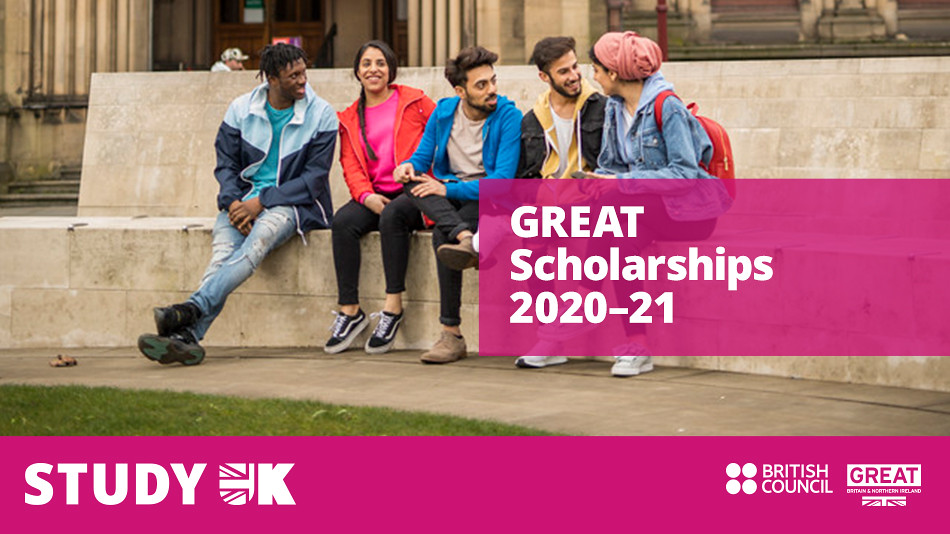 India GREAT Scholarship 2020