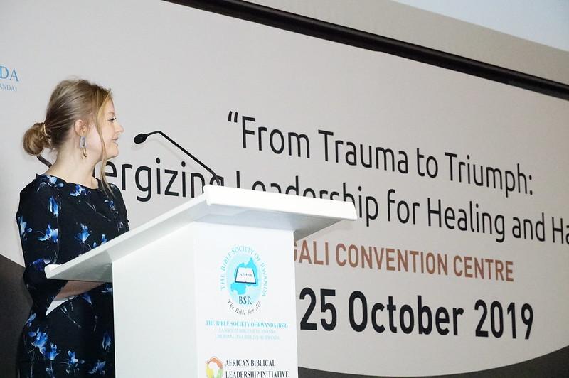 Noemie Smith spoke on Leaders as Healers