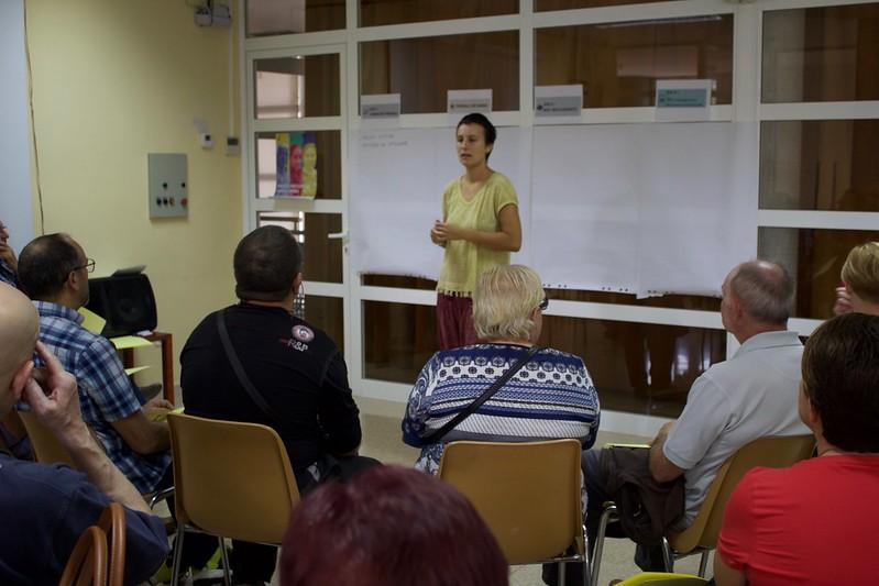 12a i 13a sessió presencial procés participatiu - Terrassa