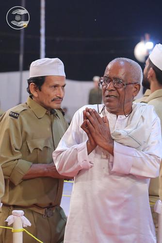 Devotees seeking blessings for welfare
