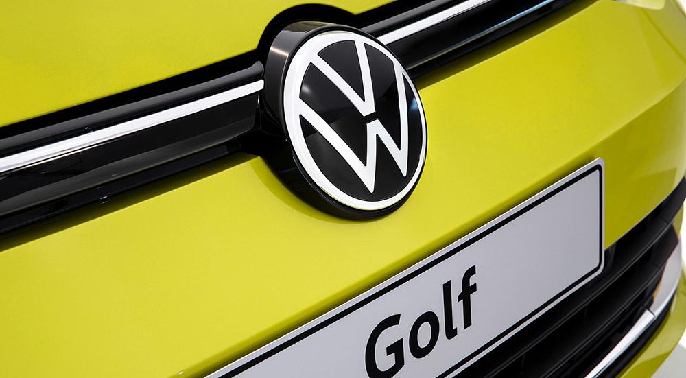 連廠徽都大改款volkswagen Golf 8代發表 Ca汽車頻道