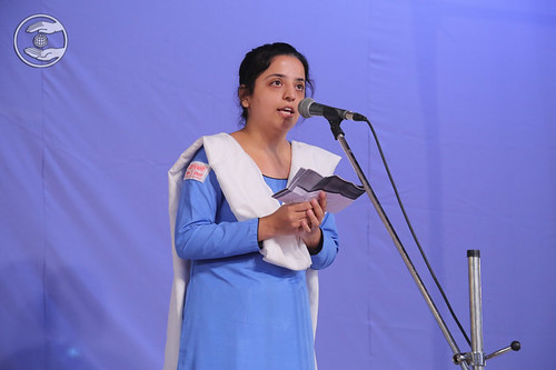 English speech by Namrata Bhatia Ji, Faridabad HR