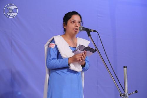 English speech by Namrata Bhatia Ji, Faridabad HR