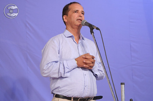 Rajeev Nangia Ji presented speech, Faridabad HR