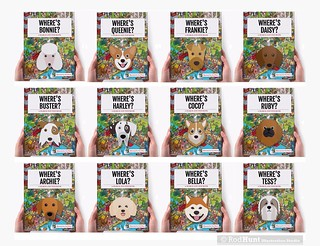 Where's Your Dog? Personalised Search and Find Book illustrated by Rod Hunt
