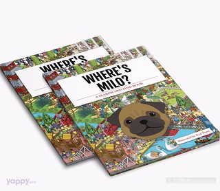 Where's Your Dog? Personalised Search and Find Picture Book illustrated by Rod Hunt