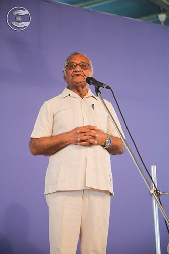 Arjundev Bhatia Ji presented speech, Ranibagh DL