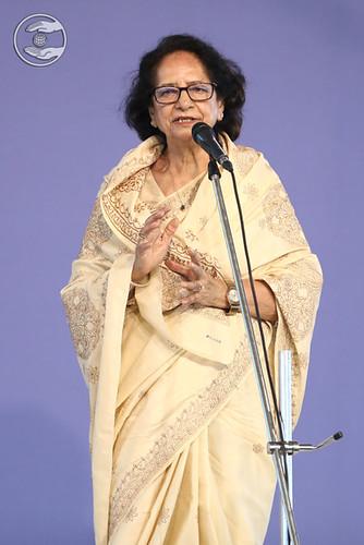 Speech in English by Prof. Shyama Kapoor Ji DL