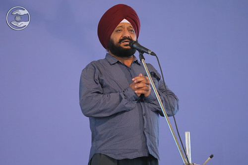 Harpal Singh Ji presented Geet, Japur UK