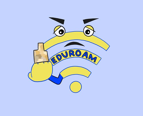 Satire: Study finds that 90% of UD students forgot to renew their eduroam connection