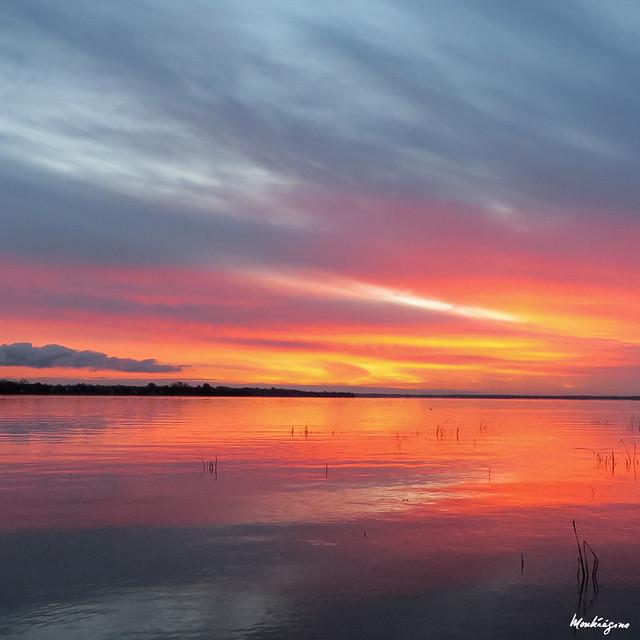 Sky reflection - Réflexion du ciel
