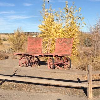 Wagon and Fence