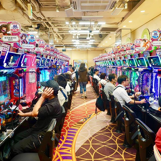 #Pachinko #パチンコ #日本 #Japan #파친코 #Патинко #彈珠機 Pachinko (パチンコ) is a type of mechanical game originating in Japan and is used as both a form of recreational arcade game and much more frequently as a gambling device, filling a Japanese gambling niche compara