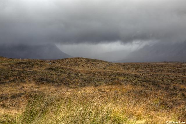 Rannoch Moor; The Highlands, Scotland