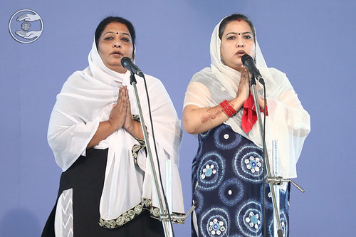 Devotional song by local devotees