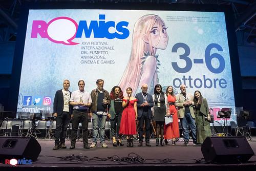 Premiazione Romics D'Oro ed 26