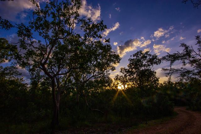 Sunset in Kakadu Nationalpark