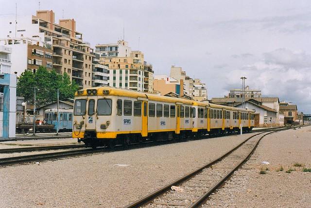 SFM: MAN-Einzeltriebwagen 2364 + MAN-Doppeltriebwagen in Palma de Mallorca