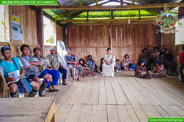 Gerencia de pueblos originarios de la Municipalidad de Echarati descentraliza atención en comunidades nativas