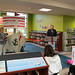 Wed, 2019/10/23 - 4:49pm - Clarington Public Library celebrated the grand launch of the Courtice Literacy Ship at a special event and ribbon-cutting ceremony on Wednesday, October 23 at the Courtice Branch!  The Ship is an architectural furniture piece designed to attract families to the Branch's children's area. It features interactive play stations that help build children's early literacy skills.  The Literacy Ship would not have been possible without the generous support of numerous sponsors, including Ontario Power Generation (OPG), LiUNA Local 183, and Veridian Connections/Elexicon Energy.