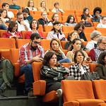 Ter, 22/10/2019 - 15:22 - A Escola Superior de Tecnologia da Saúde de Lisboa (ESTeSL-IPL) assinalou o inicio do ano letivo com uma Sessão Solene dedicada ao tema 'E-learning', que culminou com a apresentação do primeiro curso 'online, aberto e massivo', de 'Introdução à Epigenética'. A cerimónia decorreu no auditório da ESTeSL, no dia 22 de outubro de 2019, e contou com a presença de Elmano Margato, presidente do IPL, Maria Beatriz Roda, presidente da Associação de Estudantes da ESTeSL, Anabela Graça, presidente da ESTeSL, entre outros representantes e membros da comunidade académica do Politécnico de Lisboa.