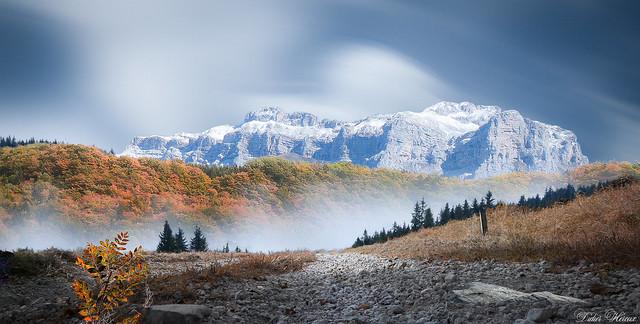 Première neige d'automne
