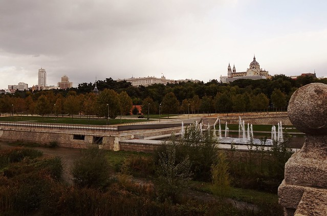 At Puente de Segovia at Manzanares