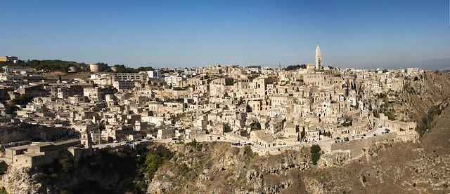 Basilicata - Matera - Sasso caveoso