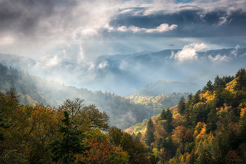 autumn fall foliage light scenic wnc northcarolina nc cherokee mountains blueridgeparkway greatsmokymountains nature explore rays sunlight leaves fallcolors autumnleaves lightrays overlook outdoors landscape appalachians appalachia vibrant nikon d850 nationalpark fallfoliage scenery smokies