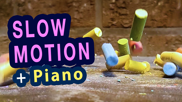 Awesome Slow Motion Compilation with Original Piano Music - 100% by Ben Heine (Youtube Video)